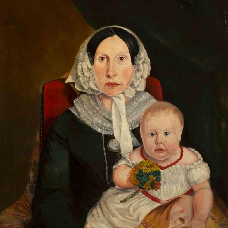 Phoebe Carter Woodruff and Child Joseph