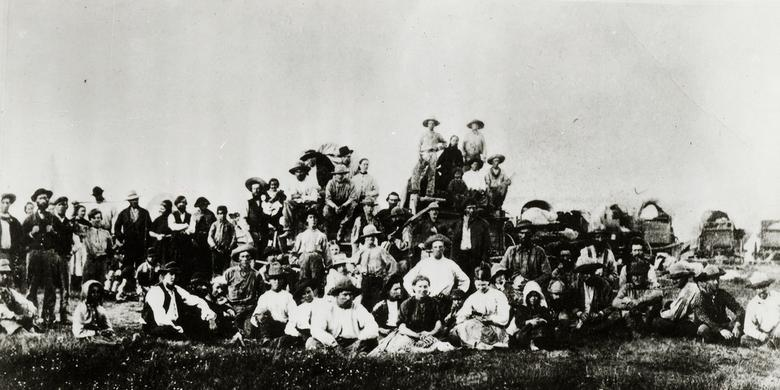 Pioneers on the Plains, 1866