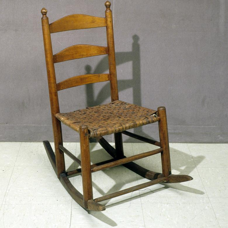 Ladder-Back Rocking Chair
