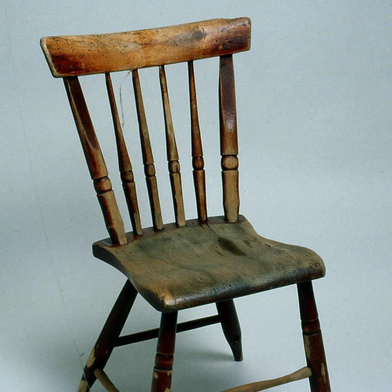 Spindled Back Chair