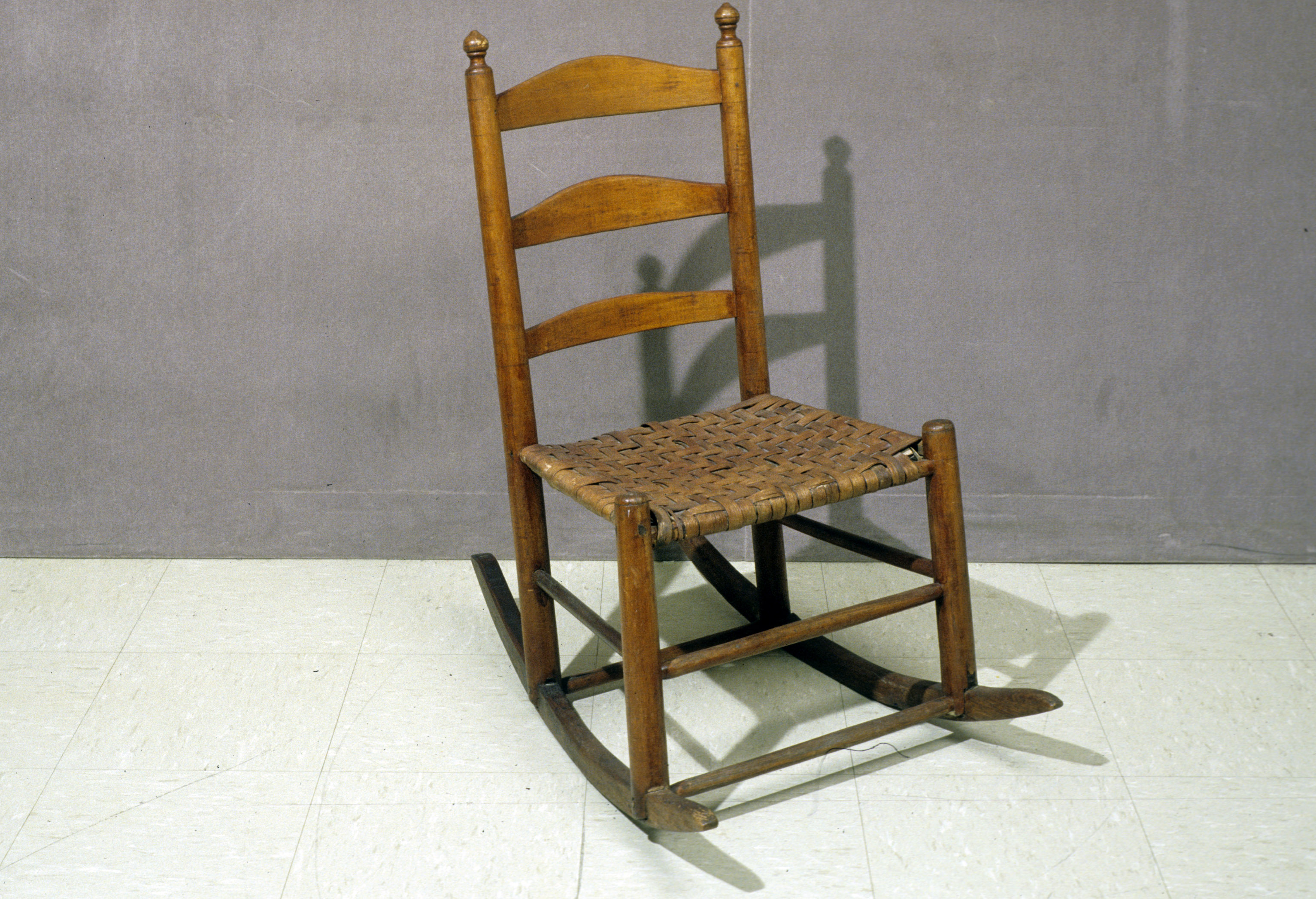 Picture of: Ladder Back Rocking Chair