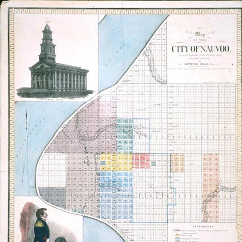 Map of the City of Nauvoo