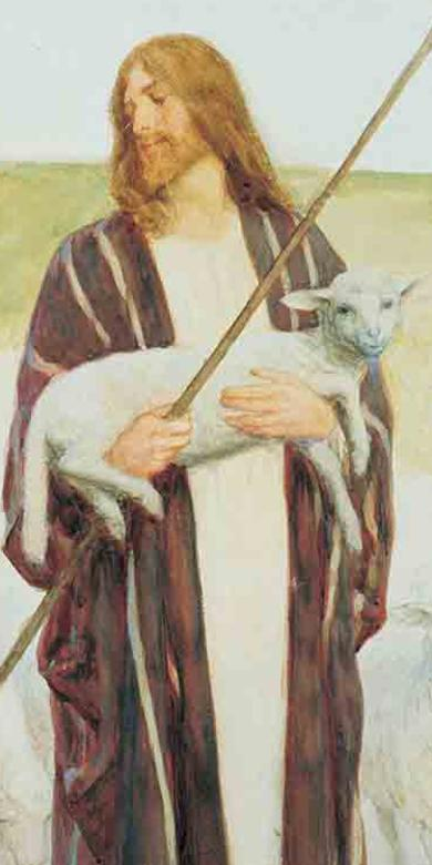 """The Good Shepherd,"" by William Henry Margetson"
