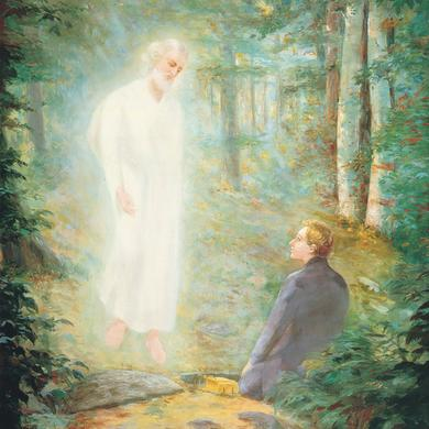 lewis a ramsey s painting of the angel moroni