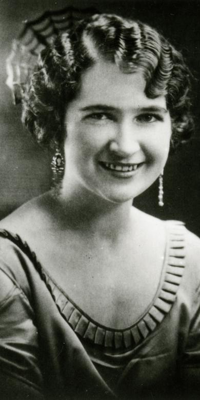 Flora Amussen Benson as a young woman