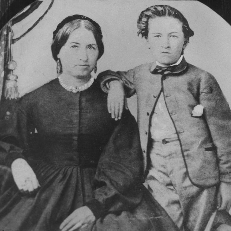 Rachel and Heber, about 1868