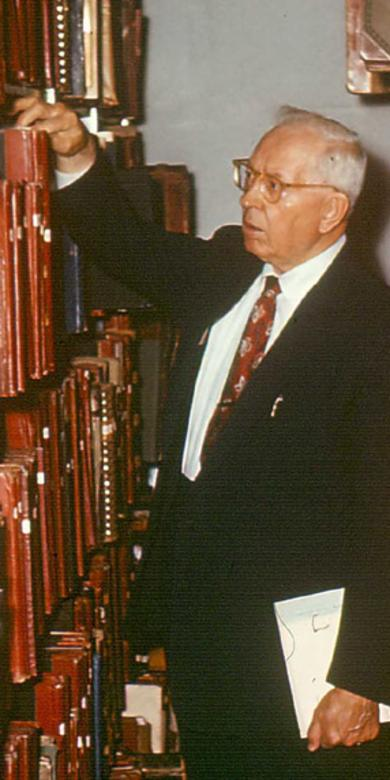 Joseph Fielding Smith searching archives