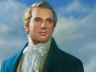 The Prophet Joseph Smith, Jr. Founder of The Church of Jesus Christ of Latter-day Saints