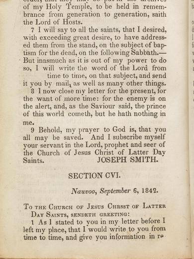 D&C 128 on josephsmithpapers.org