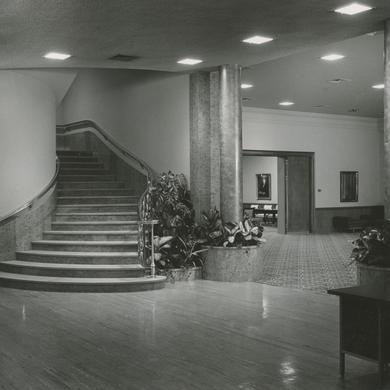 Lobby of the new Relief Society Building