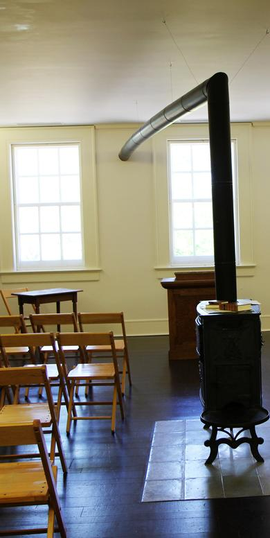 Room in Joseph Smith's Nauvoo store in which the Relief Society was founded
