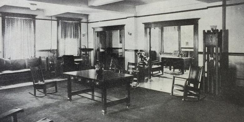Women's Organizations Offices in the Bishop's Building, 1910