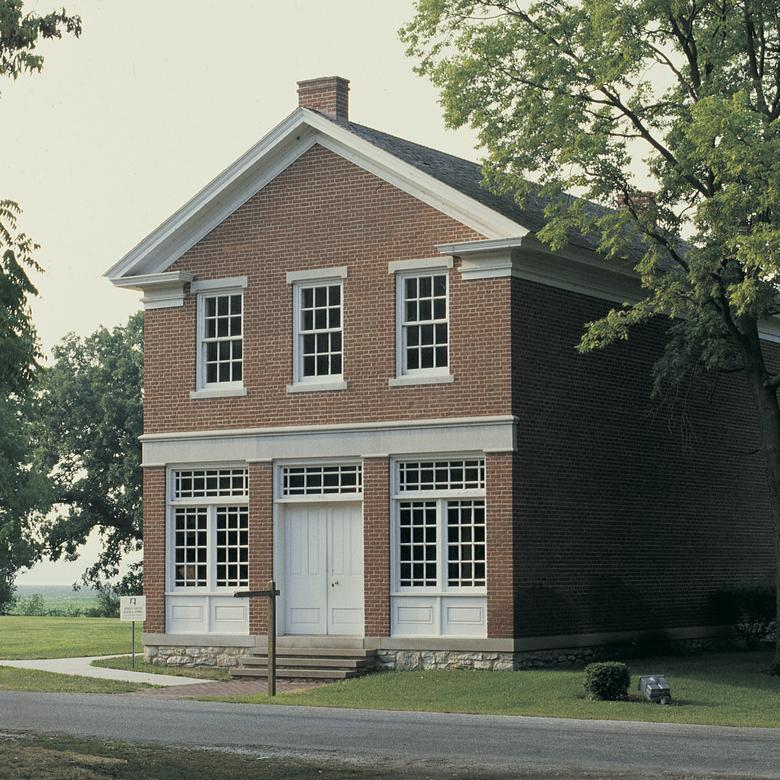 Joseph Smith's Red Brick Store in Nauvoo