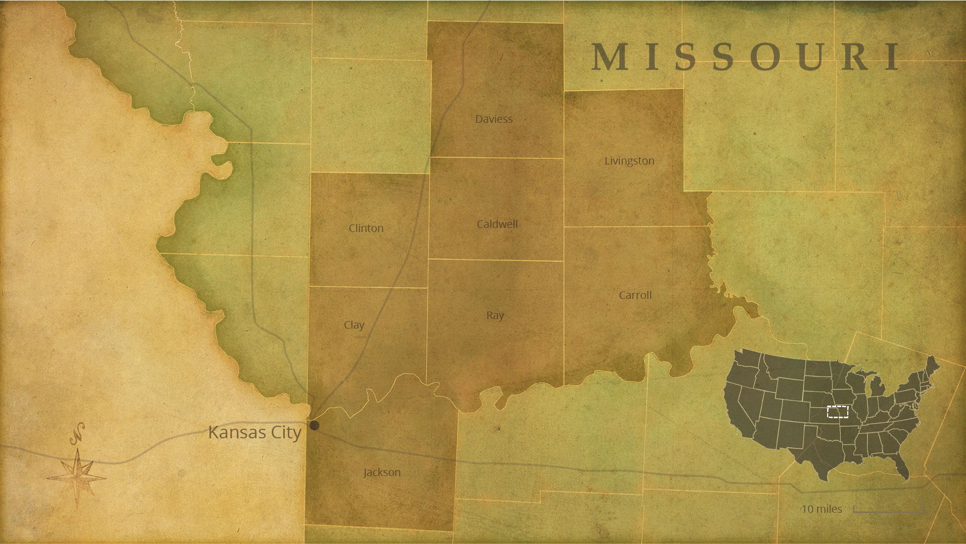 Interactive Map Lds Places Of Interest Missouri